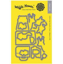 Waffle Flower Die - Books & Coffee UTGÅENDE