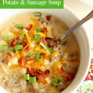 Potato & Sausage Soup.