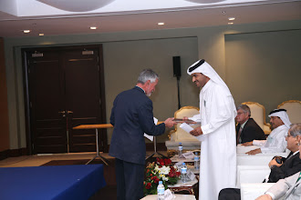 Photo: A CEDA gift to HE Sheikh Khalid