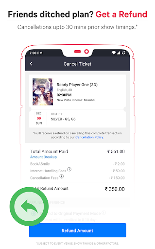 BookMyShow - Movies, Events & Sports Match Tickets  screenshots 7