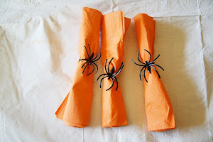 Spider Napkin Rings