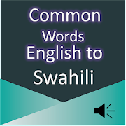 Common Word English to Swahili