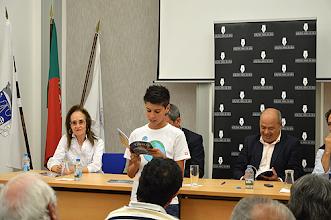 Photo: Vários poemas do livro de Carlos Paiva foram declamados