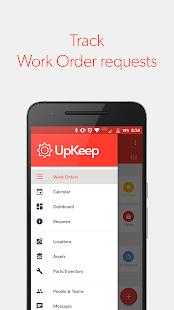 UpKeep Maintenance Management - náhled
