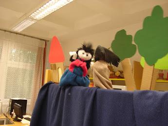 Gyerekek a könyvtárban