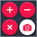 Math Solver Camera With Equation Calculator icon