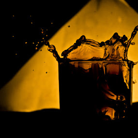 Splash by Uday Sutaria - Abstract Fine Art ( splash, drink )