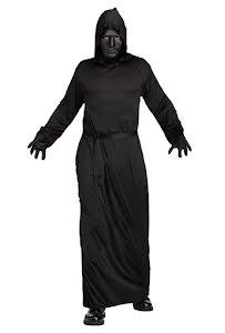 Dräkt ghoul, svart