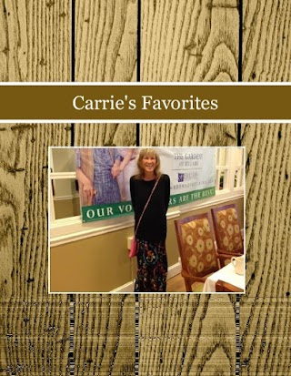 Carrie's Favorites