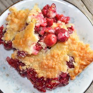 Easy Cherry Crisp Recipe