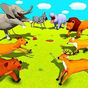Wild Animals Battle Simulator Games