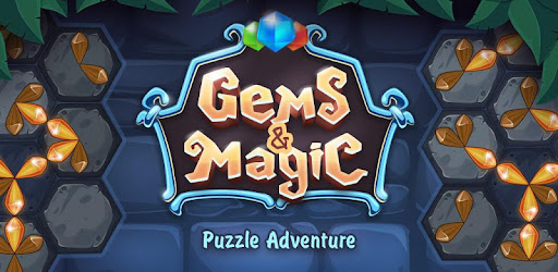 Gems & Magic adventure puzzle for PC
