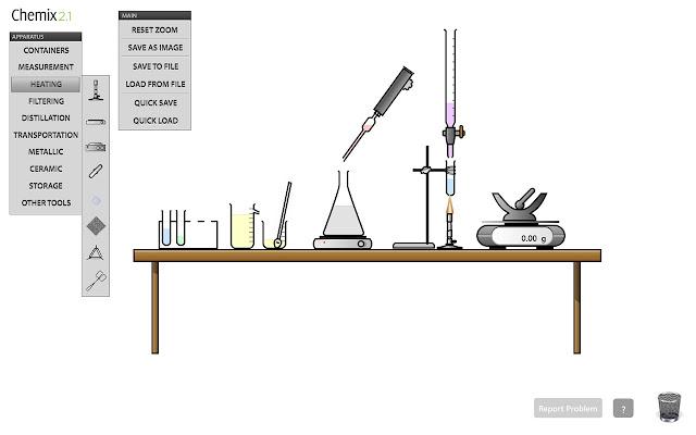 chemix lab diagrams
