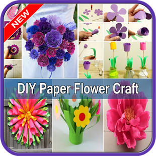 Diy Paper Flower Craft Apps On Google Play