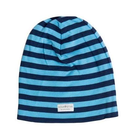 Nova Star NB Blue Striped Beanie