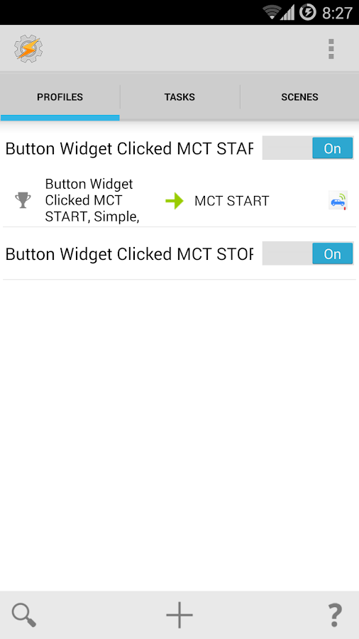 MyCarTracks Tasker Plug-in- screenshot