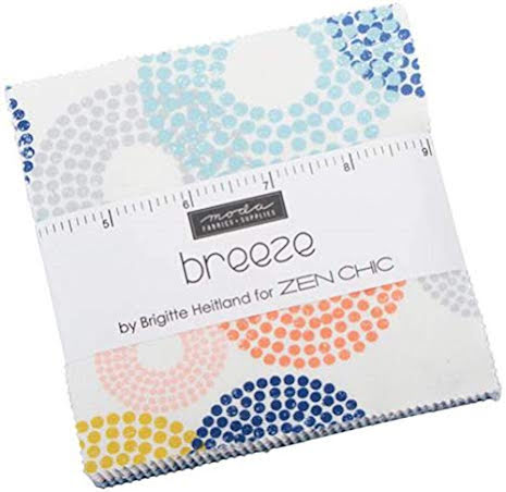 Breeze by Zen Chic Charm Pack from Moda (11435)