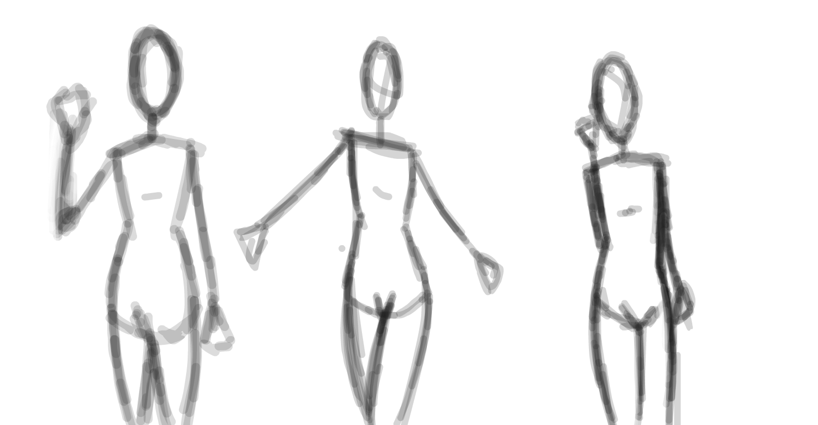 anatomy practice » drawings » SketchPort