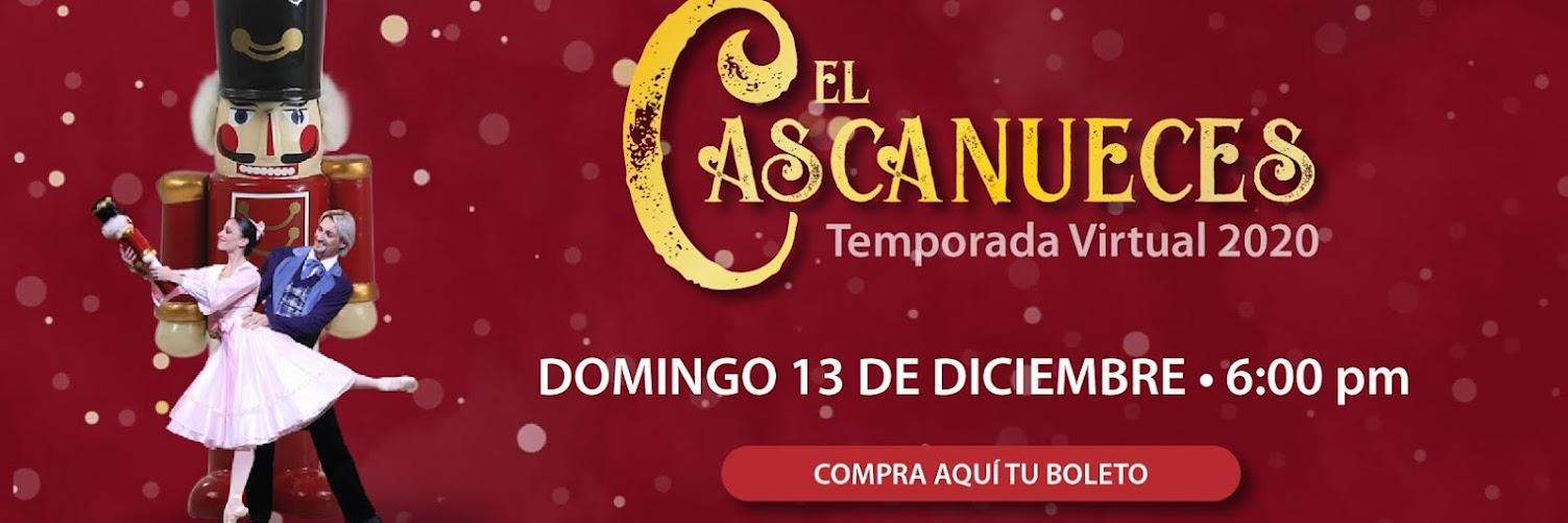 El Cascanueces Domingo 13 de diciembre- 6pm