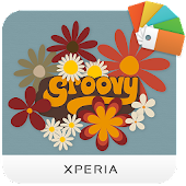 XPERIA™ Groovy Theme Icon