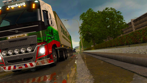 3D Euro Truck Driving Simulator Extreme Apk 2