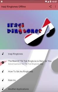Iraqi Ringtones Offline Screenshot