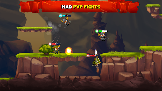 Brawl Of Heroes : Online 2D shooter Screenshot