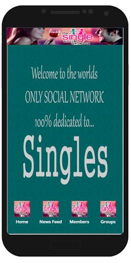The Single Social Network