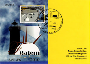 Photo: Matasellos Primer día de circulación del sello de la Filatem de Avilés 2010