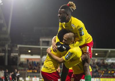 Courtrai inverse la tendance et dépasse Charleroi, Ostende assure son maintien sans gagner