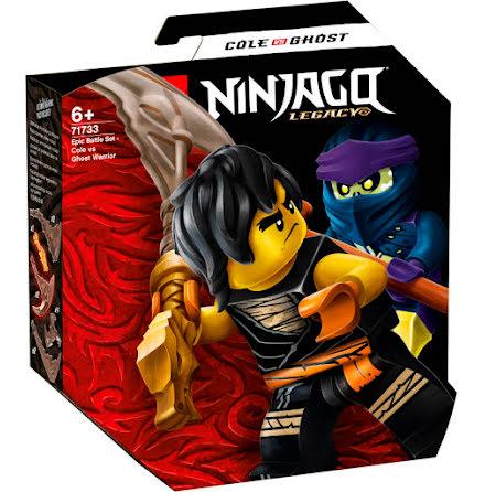 Lego Ninjago Episkt stridsset - Cole mot spökkrigare