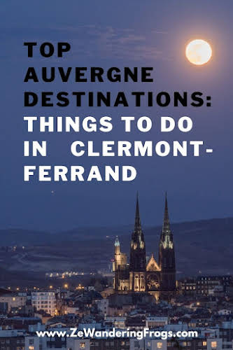 Top #Auvergne Destinations: Things to Do in #ClermontFerrand // Clermont-Ferrand by Night