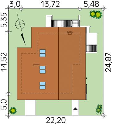 Lara 5 CE - Sytuacja