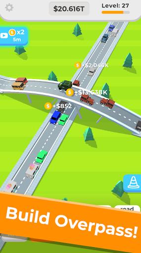 Télécharger Gratuit Idle Highway  APK MOD (Astuce) screenshots 2