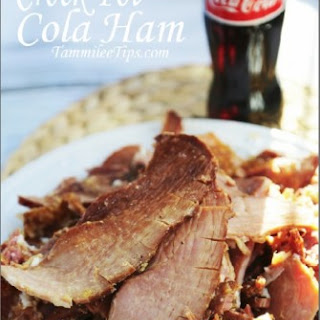 Crock Pot Cola Ham