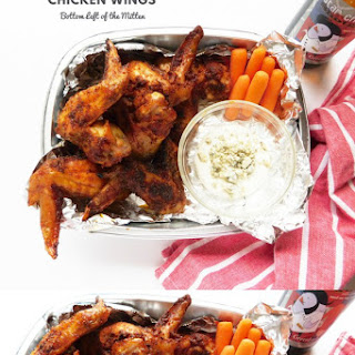 Dry Rub Chicken Wings.