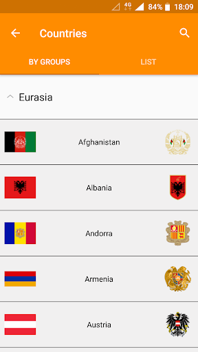 Flags of the World & Emblems of Countries: Quiz 2.11 screenshots 6