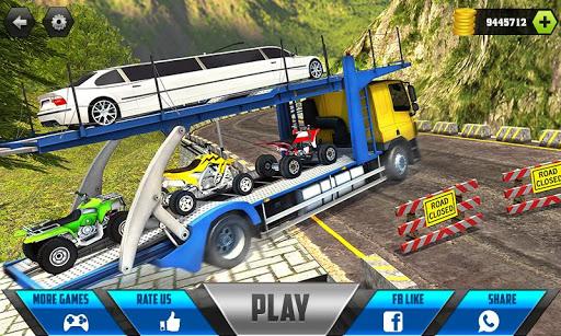 Car Transporter Cargo Truck Driving Game 2018 1.0 screenshots 1