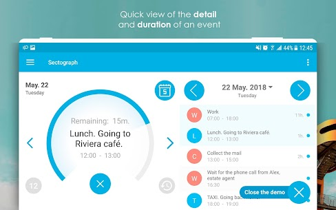 Sectograph. Planner & Time manager on clock widget Pro v5.7.2 Cracked APK 10
