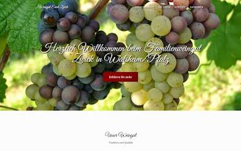 Photo: Referenz Webdesign: Weingut Erich Zwick (HTML5/CSS3, responsive Design, One-Page)