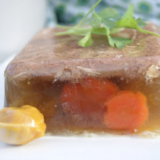 How to Make Aspic (Meat Jello).
