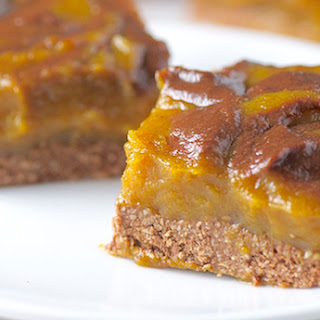 Pumpkin Chocolate Swirl Squares