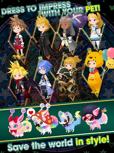 KINGDOM HEARTS Union u03c7[Cross] 2.5.0 screenshots 13