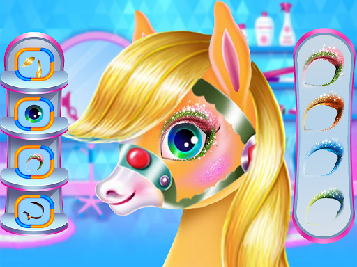 Pony Unicorn Horse Games For Girls: capturas de pantalla de Makeup Salon 3
