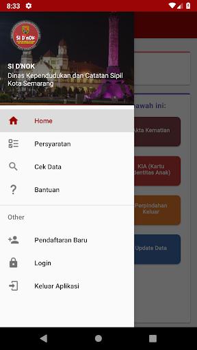 SI D'nOK - Dukcapil Kota Semarang 1.0 screenshots 2