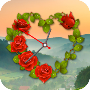 Rose Clock LIve Wallpaper  Android Apps on Google Play
