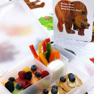 Brown Bear Bento Box.