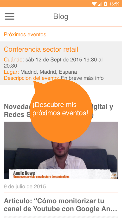 Marketing e Innovación Digital- screenshot