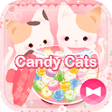 Cute Theme-Candy Cats- icon