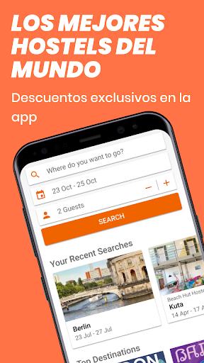Hostelworld: La App de Viajes para Buscar Hostels screenshot 1